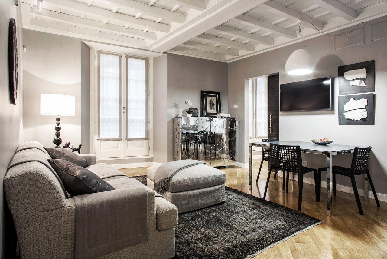 Appartamento palazzo cagnola via cusani milano stopino for Arredamento casa milano economico