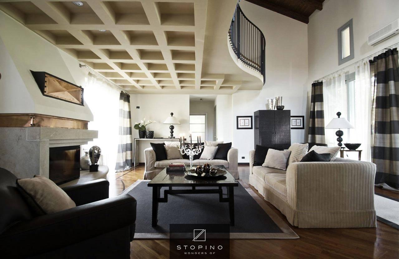 progetto di arredamento villa in provincia di milano