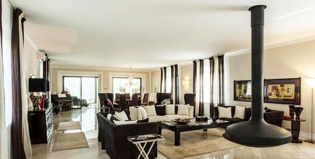 Arredamento grandi spazi per villa nel novarese stopino for Grandi magazzini arredamento