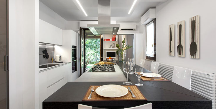 stopino arredamento appartamento vigevano vista cucina