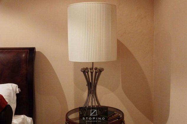 lampada cromo